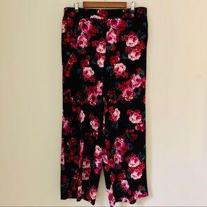 Lane Bryant Pants & Jumpsuits - Lane Bryant Allie Wide Leg Pull On Pant Size 14/16